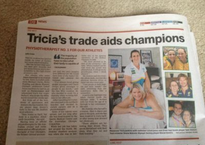 Tricia's trade aids champions